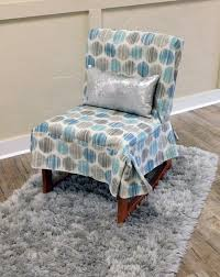 turquoise chair slipcover chair slipcover suite