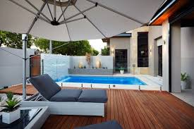 innovative small backyard pool ideas small plunge pools design