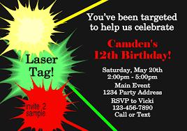 laser tag party invitations u2013 unitedarmy info