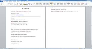 Resume Template Microsoft Word 2013 Resume Template How To Write A Cv With Microsoft Word Youtube In