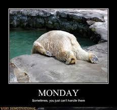 I Hate Mondays Meme - very demotivational i hate mondays very demotivational posters