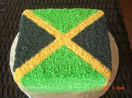 Colors Of Jamaican Flag Jamaica Themed Cake 40 U0026 Fabulous Party Pinterest Cake And