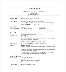 resume format for experienced accountant free download resume with internship experience u2013 foodcity me