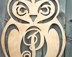 Owls Home Decor Owl Decor Etsy