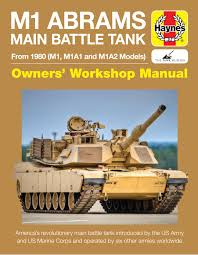m1 abrams main battle tank manual from 1980 m1 m1a1 and m1a2