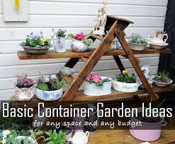 Ideas For Container Gardens - container gardening