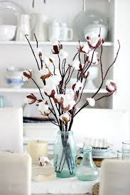 branch decor how to make a faux cotton branch centerpiece ehow