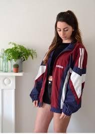 style blouse jacket retro vintage adidas jacket sports jacket adidas