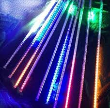 led meteor shower tube lights dhl ems free 80cm 31 5 led meteor shower tube lights chandeliers