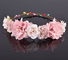 flower bands aliexpress buy cxadditions carnation peony flower crown