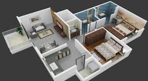 bhk in mira road flat for with great 2bhk room and car parking 3d
