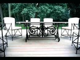 Wrought Iron Patio Tables Iron Patio Furniture Bikepool Co