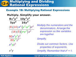 multiplying and dividing rational expressions ppt video online