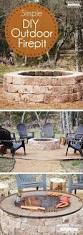 How To Make A Brick Patio by 5 Steps To Building A Backyard Fire Pit Fire Pits Fire And Yards