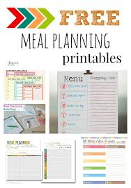 118 best meal planning grocery list printables images on
