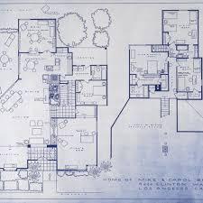 floor plan blueprint 20 brady bunch house floor plan blueprint house sle floor plan