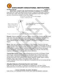 weather climate adaptation animals climate