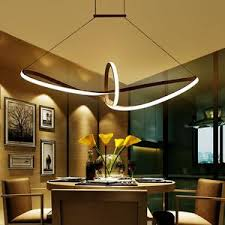 led dining room lighting striking modern statement dimmable led dining room light with