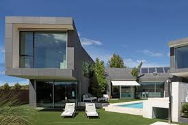 modern house ideas modern nice design modern houses with stone with warm lamp and