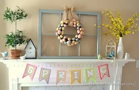 easter mantel decorations styling a and easter mantel easter decorations ideas for