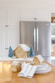 simple decorating ideas for a festive christmas kitchen a burst