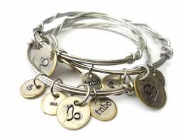 stainless charm bracelet images Recycled metal charm bracelets by tnbc designs jpg