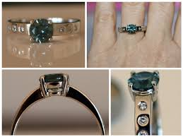 chagne engagement ring colour change sapphire ring engagement rings color