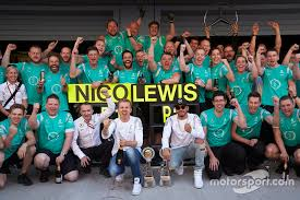 mercedes f1 team winner nico rosberg mercedes amg f1 team and second place lewis