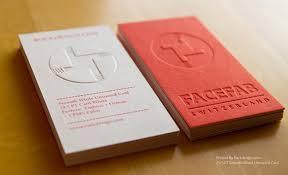 Pinterest Business Card Ideas Facefab Switzerland Emboss Business Card Design 650x396 Examples