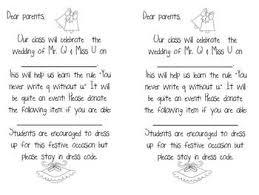 Letterland Worksheets Qu Wedding Happily After In Letter Land By Kreative In Kinder