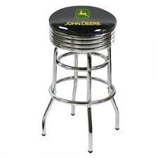Swivel Bar Stool John Deere Black Swivel Bar Stool Rungreen Com