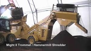 homemade gold trommel design might ii trommel shredder compilation youtube
