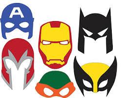 super hero masks photo booth props cricut cameo pinterest