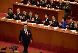Who Leads Cabinet Meetings Xi Jinping Opens China U0027s Party Congress His Hold Tighter Than