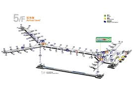 Hong Kong Airport Floor Plan by Chu Kong Passenger Transport Co Ltd