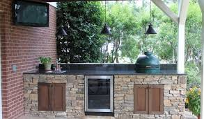 kitchen brilliant outdoor kitchen with big green egg gas grill and