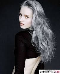 gray hair popular now 2016 hair color ideas metallic ash blonde and gray hair colors