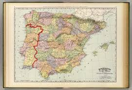 Map Of Portugal And Spain Portugal Historical Map