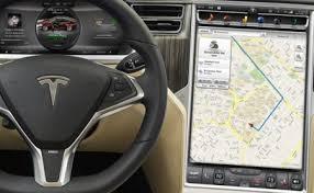 tesla model s prueba la consola táctil en el coche es el futuro
