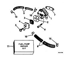 johnson fuel pump parts for 1982 7 5hp j8srlcnr outboard motor