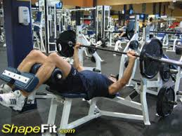 Bench Press Wide Or Narrow Grip Wide Grip Decline Barbell Bench Press Chest Exercise Guide