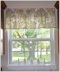 How To Make A Window by How To Make A Window Valance Curtain Home Design Ideas
