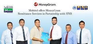 slt mobitel offers moneygram remittance services in partnership