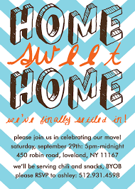 Invitation Cards To Print Home Sweet Home Housewarming Party Invitation Print Your Own