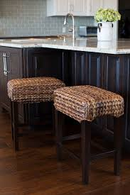 seagrass dining room chairs amazon com bird rock home seagrass backless counter stool set