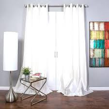 white silk curtains evideome dupioni faux curtain panel size x uk
