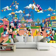 canap mickey écologique 3d immense murale bande dessinée mickey mouse fond pour