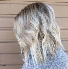 blonde hair with silver highlights hair silver toner for blonde hair awesome ice blonde lob short