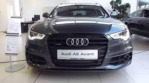 audi a6 2013 vs 2014 2014 audi a6 avant s line exterior interior see also