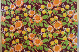russian home decor 70s soviet cotton home decor fabric russian vintage fabric with